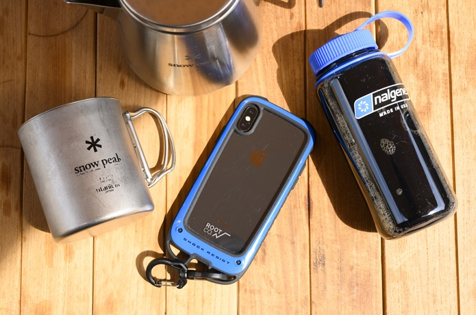 GRAVITY Shock Resist Case +Hold. for iPhone XS/X/8/7